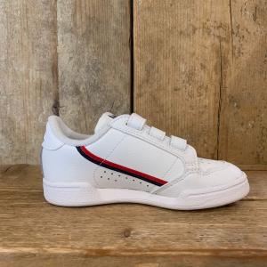 Scarpa Adidas Continental 80 CF Kids Bianca