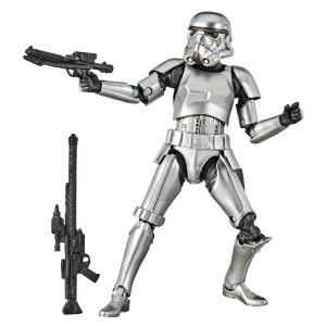 Star Wars Black Series: STORMTROOPER (Carbonized) by Hasbro