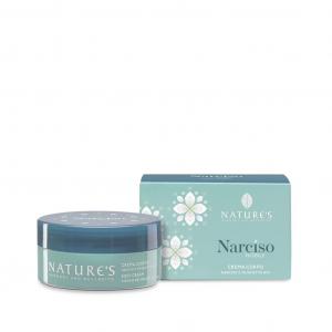 NATURE'S NARCISO NOBILE - CREMA CORPO 100 ML CON ESTRATTI BIO DI NARCISO E MUGHETTO
