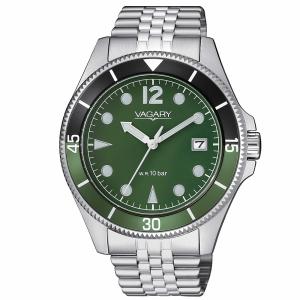 Vagary Aqua39 Solotempo Ghiera Verde e nera
