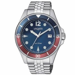 Vagary Aqua39 Solotempo Ghiera Blu e Rossa