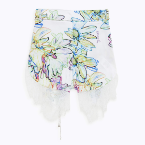 Shorts stampa flore -. PATRIZIA PEPE