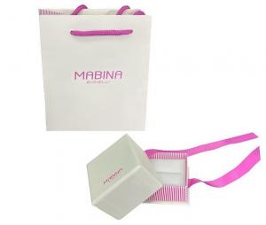 Mabina Orecchini Argento - Zaffiro Sintetico