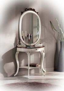 Ensemble console et miroir 'Vanity'