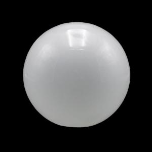 Sfera vetro soffiato Ø35 bianco latte lucido boccia ricambio per lampadari