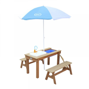 Tavolo da picnic con lavello e panche Dennis Sand & Water Axi