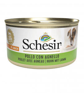 Schesir Dog - Adult - In Salsa - 85g x 24 lattine