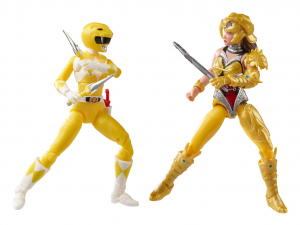 *PREORDER* Power Rangers Lightning: MIGHTY MORPHIN YELLOW RANGER vs. MIGHTY MORPHIN SCORPINA by Hasbro