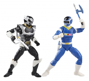 *PREORDER* Power Rangers Lightning: IN SPACE BLUE RANGER vs. IN SPACE PSYCHO SILVER by Hasbro