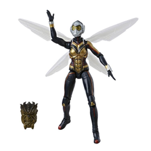 Marvel Legends Series Ant-Man and the Wasp: WASP (Cull Obsidian BAF) by Hasbro