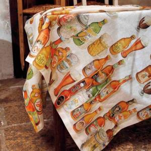 Tischdecke 160x230 cm Tessitura Toscana - PILSEN pures Leinen
