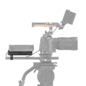 Piastra per batteria V-mount con clamp per rod 15mm 3203