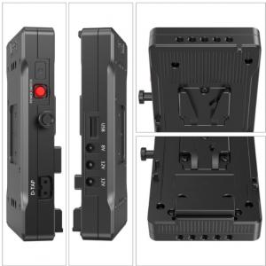 Piastra adattore per batteria V-mount con braccio regolabile 15mm 3204