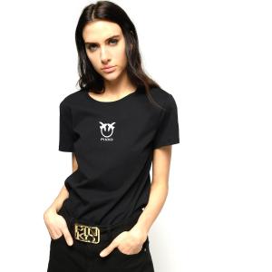 T-Shirt Logo Love Birds - PINKO