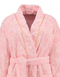 Schal Frottee Bademantel PIP STUDIO Jacquard Check pink