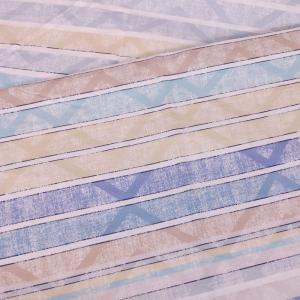 Telo Arredo foulard Zucchi Basics TONIC 3 azzurro puro cotone - varie misure