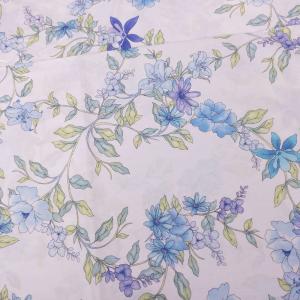 Telo Arredo foulard Zucchi Basics SOLAR 3 azzurro puro cotone - varie misure