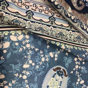 Bassetti Granfoulard Dekotuch ANACAPRI var.C1 blau 3 Größen