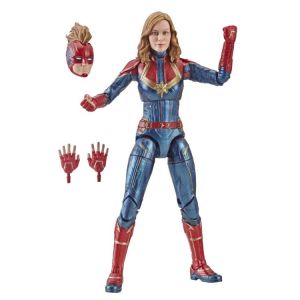 Marvel Legends Series Captain Marvel: CAPTAIN MARVEL (Kree Sentry BAF) by Hasbro