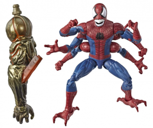Marvel Legends Series Spider-Man: DOPPELGANGER SPIDER-MAN (Molten Man BAF) by Hasbro