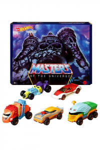 Masters of the Universe - Hot Wheels: Character Cars 5-Pack by Mattel