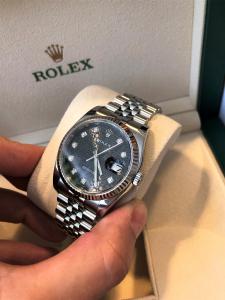Orologio secondo polso Rolex Datejust 36mm