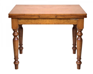 Mesa cuadrada extensible, mesa de comedor