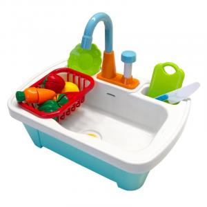 Lavabo giocattolo multifunzionale con accessori Cucina Axi