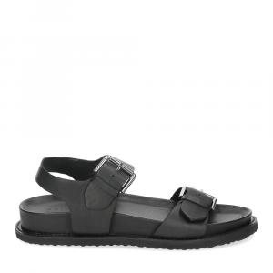 Inuovo sandalo 781004 pelle nera-2