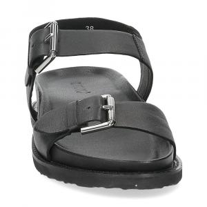 Inuovo sandalo 781004 pelle nera-3