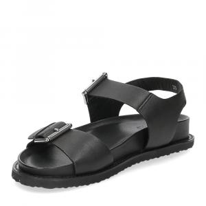 Inuovo sandalo 781004 pelle nera-4