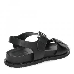 Inuovo sandalo 781004 pelle nera-5