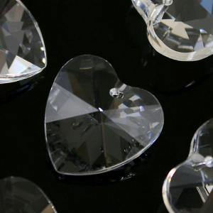 Pendaglio cuore 40 mm cristallo piombo 30% -Asfour 870-