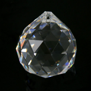 Sfera 50 mm cristallo molato -Asfour 701-