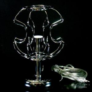 Telaio metallico cablato per lampada da tavolo h 25 cm