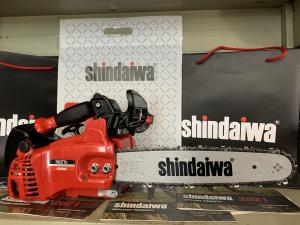 MOTOSEGA SHINDAIWA 362 TS BARRA 35CM POTENTE E PROFESSIONALE MADE IN JAPAN