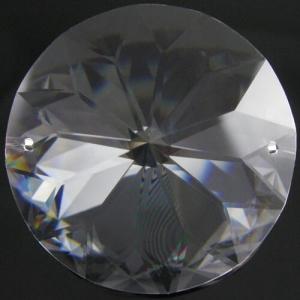 Tondo da 45 mm a due fori cristallo -Asfour 1040-