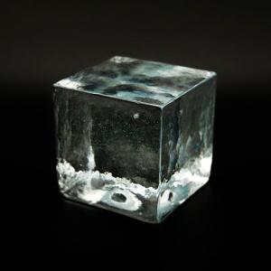 Blocco mattone sanpietrino cristallo trasparente vetro Murano