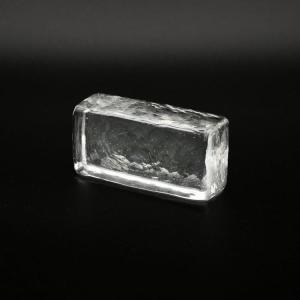 Blocco mini mattone cristallo trasparente vetro Murano