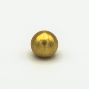 Finale ottone grezzo a sfera Ø10 mm foro interno M5