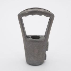 Gancio bilanciatore grezzo per cavo acciaio attacco M10x1 per lampadari