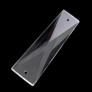 Losanga trapezio Spectra Swarovski, color cristallo, 52 mm.