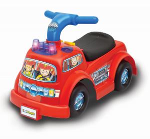 Cavalcabile primi passi Camion dei Pompieri Fisher Price
