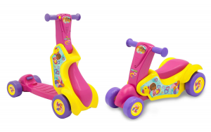 Cavalcabile Monopattino 2 in 1 scooter Little People Fisher Price
