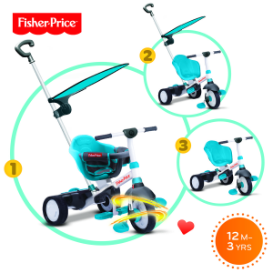 Triciclo Charm Plus Fisher Price