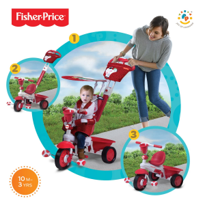 Triciclo Royal Rosso Fisher Price