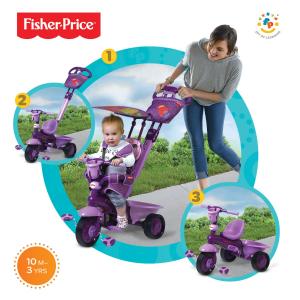 Triciclo Royal Viola Fisher Price