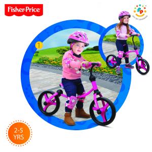Bicicletta senza pedali Running bike 2 in 1 Fisher Price Rosa