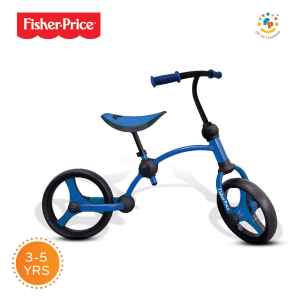 Bicicletta senza pedali Running bike 2 in 1 Fisher Price Azzurro