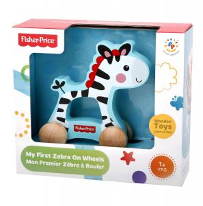 Zebra Trainabile con ruote Fisher Price